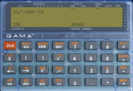 The Qama Calculator